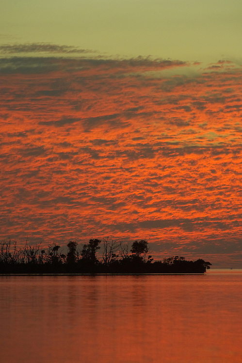 Sunset over Pine Island, Florida