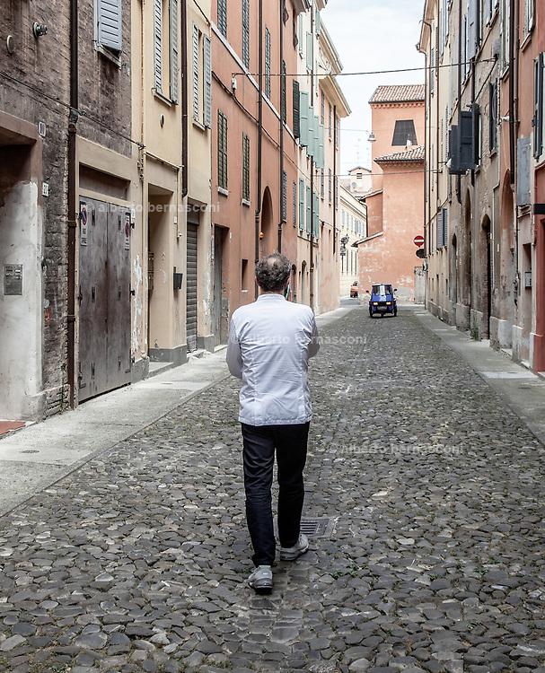 Modena, Osteria Francescana, chef Massimo Bottura