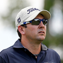 Apr 27, 2012; Avondale, LA, USA; Ben Curtis on the 2nd hole during the second round of the Zurich Classic of New Orleans at TPC Louisiana. Mandatory Credit: Derick E. Hingle-US PRESSWIRE