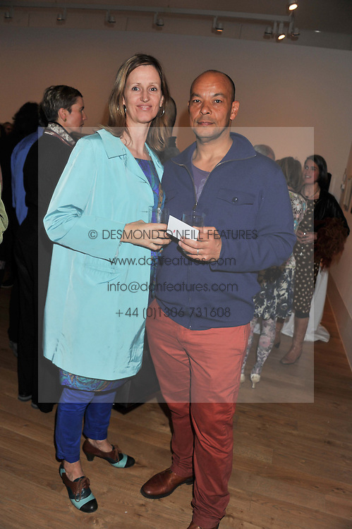 The colours of reality private view kew gardens london uk lead singer of the band fine young cannibals roland gift and his wife louise meldrum at negle Gallery