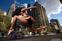 Madison Square Park New York City Dance As Art Photography with Dancer Sylvana Tapia