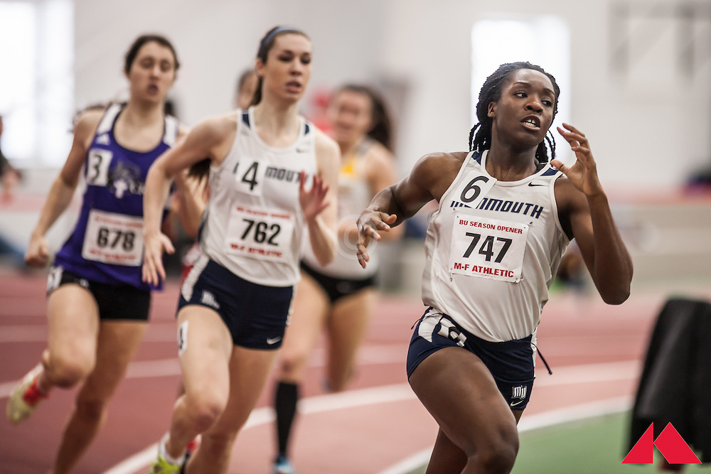 Boston University Scarlet and White Indoor Track & Field: Monmouth