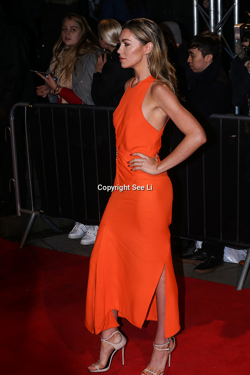 London,England,UK. 21th Fen 2017. Abigail Clancy attends London Fabulous Fund Fair hosted by Natalia Vodianova and Karlie Kloss in support of The Naked Heart Foundation on February 21, 2017 at The Roundhouse in London, England.,UK. by See