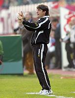 """L'allenatore del Siena Mario Beretta<br /> Siena Trainer Mario Beretta<br /> Italian """"Serie A"""" 2006-07 <br /> 12 November 2006 (Match Day 11)<br /> Siena-Reggina (0-1)<br /> """"Artemio Franchi"""" Stadium-Siena-Italy<br /> Photographer Luca Pagliaricci INSIDE"""