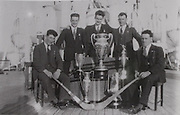 Tipperary players Tommy Treacy, Mick Cronin, John Maher, Jimmy Heaney and Martin Kennedy returning from their USA tour as World Champions in 1931.