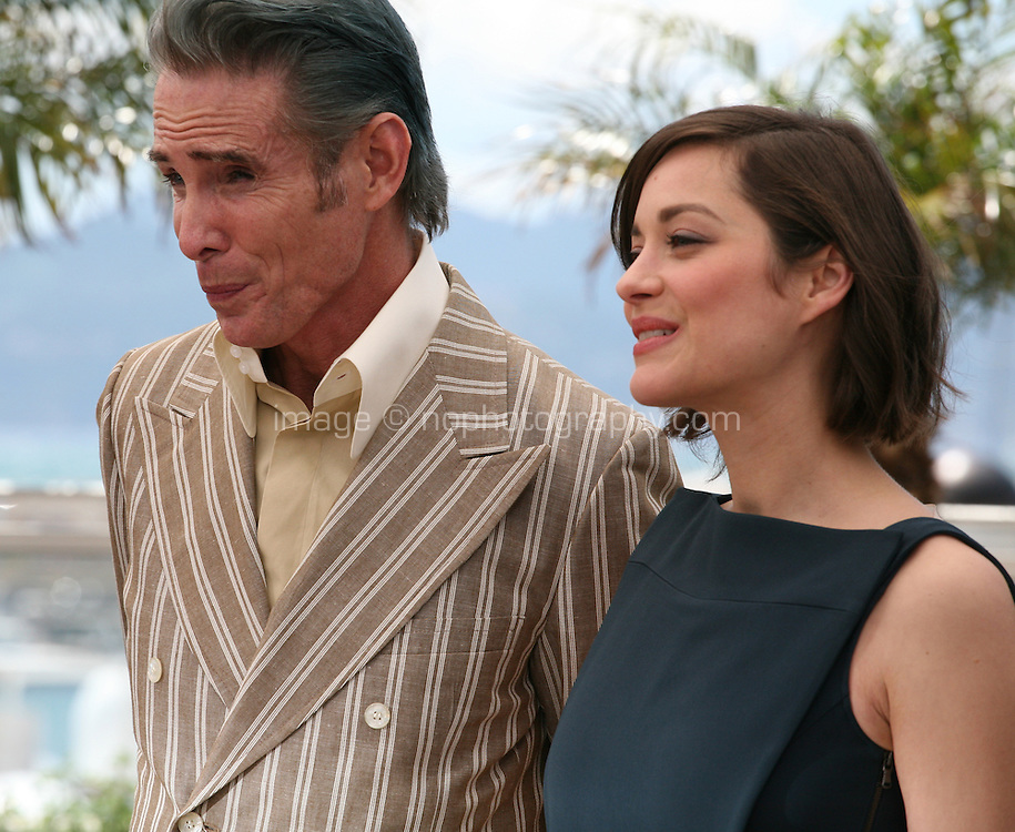 Mark Mahoney, Marion Cotillard, .at the Blood Ties film photocall at the Cannes Film Festival Monday 20th May 2013