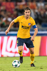 Gabi of Club Atletico de Madrid during the UEFA Champions League group C match match between AS Roma and Atletico Madrid on September 12, 2017 at the Stadio Olimpico in Rome, Italy.