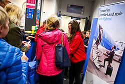 Fly BMI banner - Rogan/JMP - 16/11/2018 - BASKETBALL - SGS WISE Arena - Bristol, England - Bristol Flyers v Leicester Riders - BBL Championship.