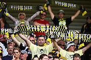 Phoenix fans.<br /> A-League soccer - Wellington Phoenix v Brisbane Roar at Westpac Stadium, Wellington. Saturday, 9 January 2010. Photo: Dave Lintott/PHOTOSPORT