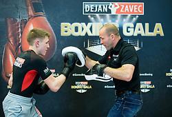 Tomi Lorencic and Dejan Zavec during press conference of Boxing Gala events organised by Dejan Zavec, on February 21, 2017 in Hotel Union, Ljubljana, Slovenia. Photo by Vid Ponikvar / Sportida