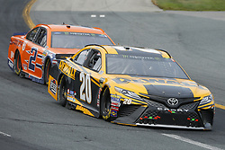 July 22, 2018 - Loudon, New Hampshire, United States of America - Erik Jones (20) brings his car through the turns during the Foxwoods Resort Casino 301 at New Hampshire Motor Speedway in Loudon, New Hampshire. (Credit Image: © Chris Owens Asp Inc/ASP via ZUMA Wire)