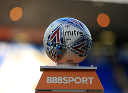The Birmingham City match ball prior to kick off - Mandatory by-line: Paul Roberts/JMP - 15/08/2017 - FOOTBALL - St Andrew's Stadium - Birmingham, England - Birmingham City v Bolton Wanderers - Sky Bet Championship