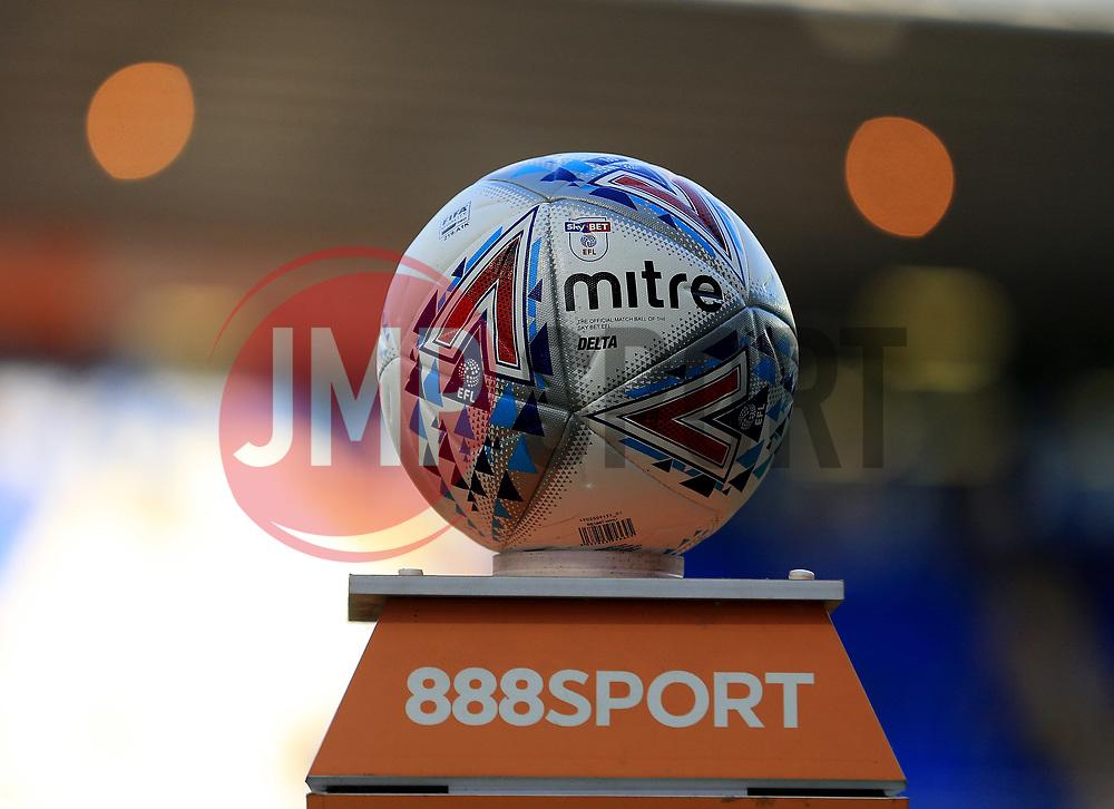 The Birmingham City match ball prior to kick off - Mandatory by-line: Paul Roberts/JMP - 15/08/2017 - FOOTBALL - St Andrew's Stadium - Birmingham, England - Birmingham City v Bolton Wanderers - Sky Bet Championship