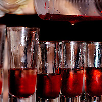 Pouring Shots to Party Hardy at Riviera Maya, Mexico <br />