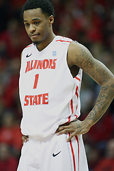 08 December 2012: Tyler Brown  during an NCAA mens basketball game between the Western Michigan Broncos and the Illinois State Redbirds (Missouri Valley Conference) in Redbird Arena, Normal IL