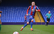 Jordon Mutch trakcs his man during the Final Third Development League match between U21 Crystal Palace and U21 Bristol City at Selhurst Park, London, England on 3 November 2015. Photo by Michael Hulf.