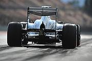 February 19, 2013 - Barcelona Spain. Esteban Gutierrez, Sauber F1 Team  during pre-season testing from Circuit de Catalunya.