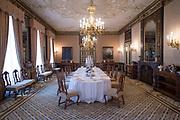 Openstelling Paleis Noordeinde en het Koninklijk Staldepartement<br /> <br /> Op de foto:  Marot eetzaal