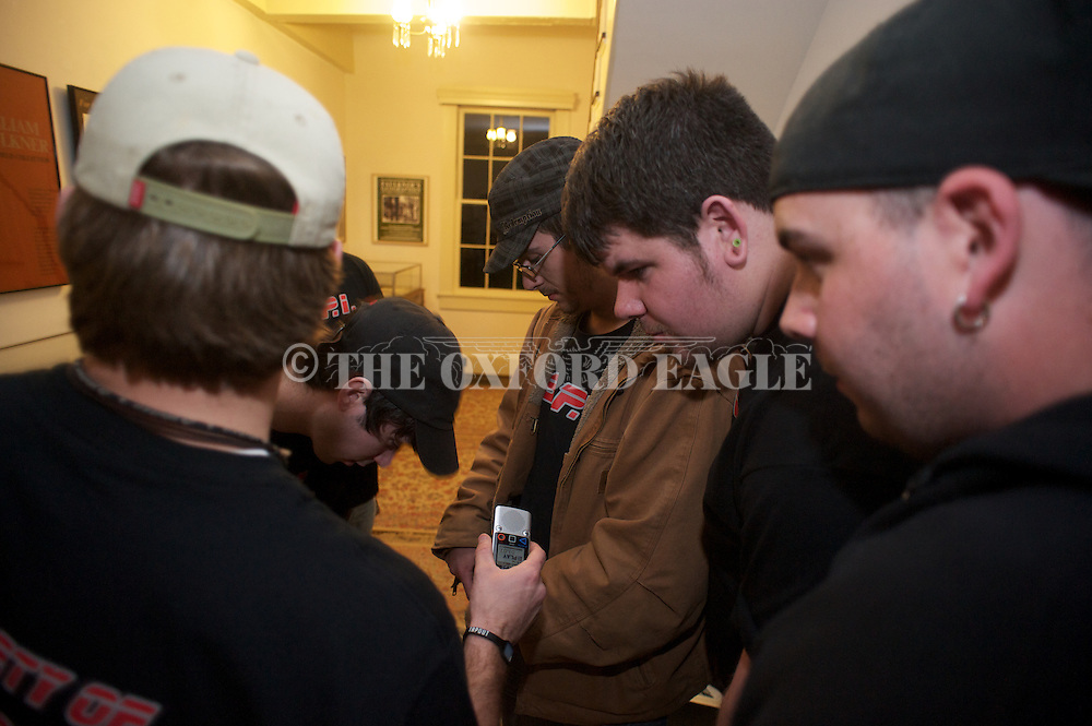 Society of Paranormal Investigators at Rowan Oak, the home of the late Nobel Prize winning author William Faulkner, in Oxford, Miss. on Friday, January 27, 2012.