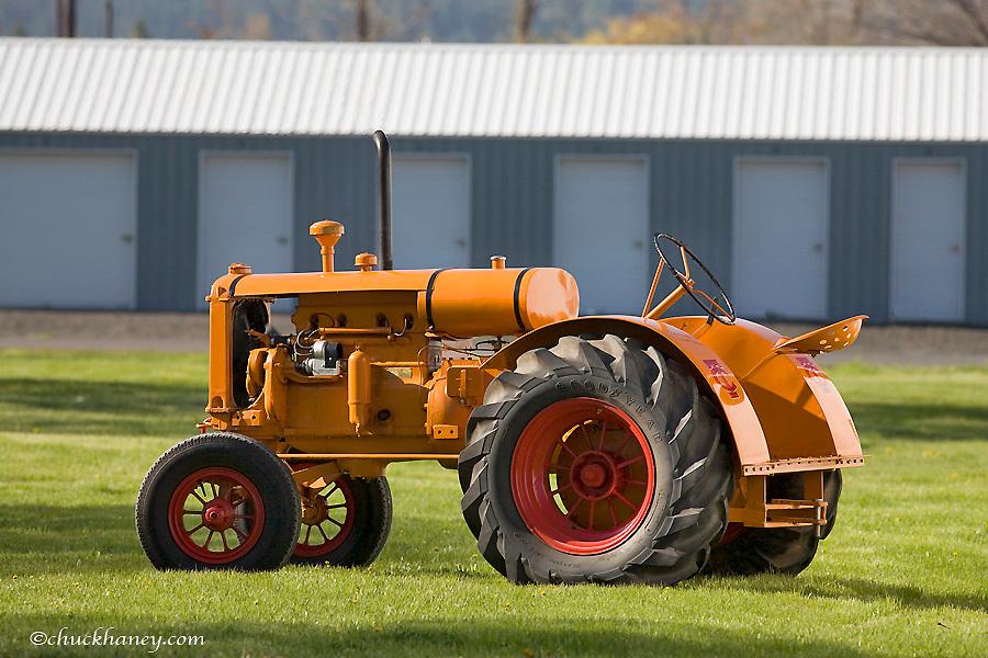 Early 1934 Minneapolis Moline KTA tractor restored by Ted Billups of Grangeville Idaho