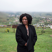 Getwana Mahlalase, 62 y.o., is a community worker and the daughter of the former community leader of the rural area of Vulindlela, in KwaZulu Natal. Alarmed by the increasing number of deaths among young people caused by AIDS in her community in the late 1990s, she called Prof Salim Abdool Karim and Prof Quarraisha Abdool Karim for help. The CAPRISA Research Clinic was subsequently created in 2001 and has since examined HIV prevalence among young   women aged between 15 and 24 in the area. Vulindlela, South Africa, 7 November 2017.  © Miora Rajaonary / Wall Street Journal