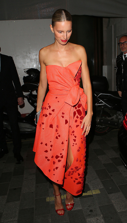 Karolina Kurkov atttends the British Fashion Awards After Party at Cafe Royal in London, UK. 01/12/2014<br />BYLINE MUST READ : JAMESY/GOTCHA IMAGES<br /><br />Copyright by &copy; Gotcha Images Ltd. All rights reserved.<br />Usage of this image is conditional upon the acceptance <br />of Gotcha Images Ltd, terms and conditions available at<br />www.gotchaimages.com