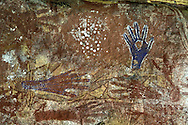 Rock Art.Mt.Borradaile.Max Davidson Camp.Arnhemland.Northern Territory.Australia