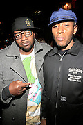 "Mos Def and Peter Hadar at The Roots Album realease party for "" Roots Down at Sutra on April 29, 2008"".. The Legendary Roots Crew, the influential, Grammy Award-winning American band from Philadelphia, Pennsylvania, famed for a heavily jazzy sound and live instrumentation, have made 10 Albums to date."