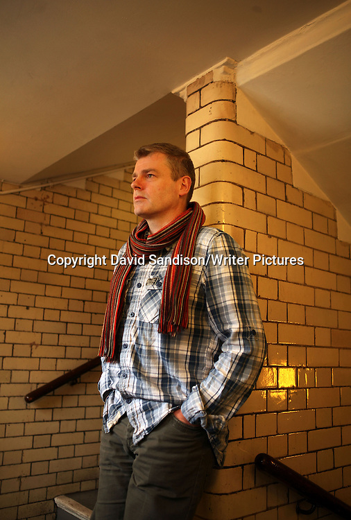Mark Haddon, writer, at the Jerwood Space for rehersals of his play Polar Bears. Taken 23rd March 2010<br /> <br /> Picture by David Sandison/Writer Pictures<br /> <br /> WORLD RIGHTS