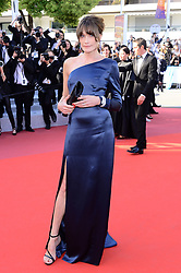 May 15, 2019 - WORLD RIGHTS.Cannes, France, 15.05.2019, 72th Cannes Film Festival in Cannes. The 72th edition of the film festival will run from May 14 to May 25. .''Les Miserables'' Red Carpet .NZ. Carla Bruni-Sarkozy .Fot. Radoslaw Nawrocki/FORUM (FRANCE - Tags: ENTERTAINMENT; RED CARPET) (Credit Image: © FORUM via ZUMA Press)