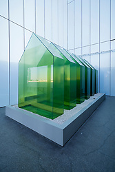 Green House : Interior yet Exterior, Manmade yet Natural by Shaikha Al Mazrou, at Jameel Arts Centre in Dubai, UAE