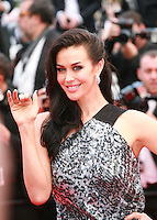 Megan Gale at the gala screening for the film Sicario at the 68th Cannes Film Festival, Tuesday May 19th 2015, Cannes, France.