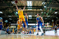 Marjan Cakarun of Sixt Primorska during basketball match between KK Sixt Primorska and KK Hopsi Polzela in final of Spar Cup 2018/19, on February 17, 2019 in Arena Bonifika, Koper / Capodistria, Slovenia. Photo by Vid Ponikvar / Sportida