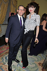 JONATHAN NEWHOUSE and JASMINE GUINNESS at Tatler's Jubilee Party in association with Thomas Pink held at The Ritz, Piccadilly, London on 2nd May 2012.