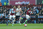 Tottenham Hotspur forward Harry Kane (10)  gets clear during the Barclays Premier League match between Aston Villa and Tottenham Hotspur at Villa Park, Birmingham, England on 13 March 2016. Photo by Simon Davies.