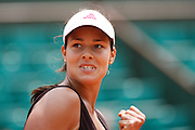 Roland Garros. Paris, France. June 5th 2007..1/4 Finals..Ana IVANOVIC against Svetlana KUZNETSOVA..
