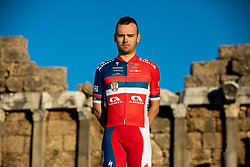 Dusan Rajovic during photo session of KK Adria Mobil before new cycling season, on January 17, 2019 in Side, Turkey. Photo by Vid Ponikvar / Sportida