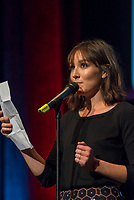 10th Film Festival Lumiere - October 19: Jane Fonda receives the Prix Lumiere 2018.<br /> Anais Demoustier delivers a speech for Jane Fonda during the 10th Lyon Film Festival