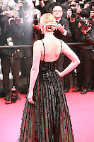 Jess Weixler at the Foxcatcher gala screening red carpet at the 67th Cannes Film Festival France. Monday 19th May 2014 in Cannes Film Festival, France.