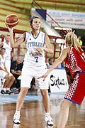 DESCRIZIONE : Porto San Giorgio Torneo Internazionale Basket Femminile Italia Croazia<br /> GIOCATORE : Paola Mauriello<br /> SQUADRA : Nazionale Italia Donne<br /> EVENTO : Porto San Giorgio Torneo Internazionale Basket Femminile<br /> GARA : Italia Croazia<br /> DATA : 28/05/2009 <br /> CATEGORIA : passaggio<br /> SPORT : Pallacanestro <br /> AUTORE : Agenzia Ciamillo-Castoria/E.Castoria