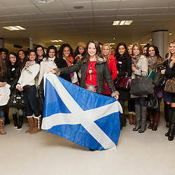Miss World visits Scotland
