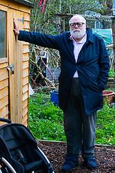 Danny Gallivan, chairman of the Regent's Park Gardening Association. Munster Square, Camden, March 18 2019.