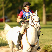 Ashley DeBoer and Safari at the 2007 Wellpride American Eventing Championships in Wayne, IL