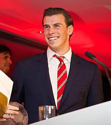 CARDIFF, WALES - Monday, October 6, 2014: Wales' Gareth Bale at the FAW Footballer of the Year Awards 2014 held at the St. David's Hotel. (Pic by David Rawcliffe/Propaganda)