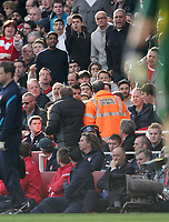 20120226: LONDON, UK - Barclays Premier League 2011/2012: Arsenal vs Tottenham.<br />