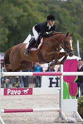 605 - Cendy VDP - Nalis Rianne<br /> 7 Jarige Finale Springen<br /> KWPN Paardendagen - Ermelo 2014<br /> © Dirk Caremans