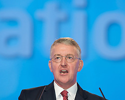 Hilary James Wedgwood Benn MP for Leeds Central during the Labour Party Conference in Manchester, October 4, 2012. Photo by Elliott Franks / i-Images.