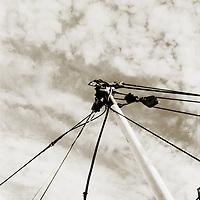 A yachts mast