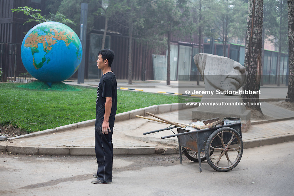 In the 798 Art District, in Beijing, China, Sunday 3rd June 2012.