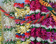 Flower Leis, Hawaii, USA<br />